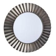 Household Essentials Bronze Sunburst Wall Mirror, Bronze (2370-1)