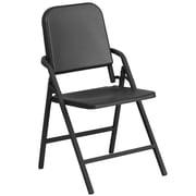 HERCULES Series Black High Density Folding Melody Band/Music Chair (HF-MUS-FLD-GG)