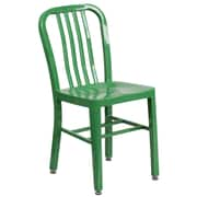 Green Metal Indoor-Outdoor Chair (CH-61200-18-GN-GG)