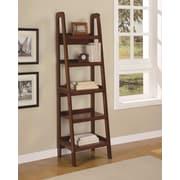 Altra Platform Wood Veneer Ladder Bookcase, Mahogany (9537096)