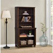 Altra San Antonio Wood Veneer Bookcase, Espresso (9662196COM)