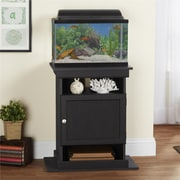 Altra Flipper 10/20 Gallon Aquarium Stand, Black (5695325COM)