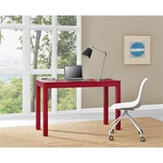 Altra Large Parsons Desk with 2 Drawers, Red (9889196COM)