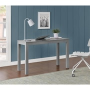 Altra Large Parsons Desk with 2 Drawers, Gray (9889096COM)