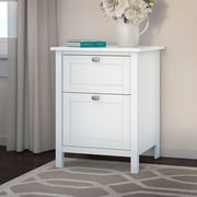 Bush Furniture Broadview 2 Drawer File Cabinet, Pure White (BDF124WH-03)
