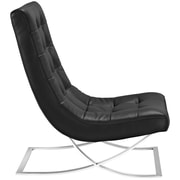 Slope Lounge Chair in Black (889654039396)
