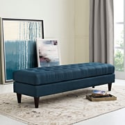 Modway Empress Bench in Azure (889654040675)