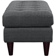 Empress Fabric Bench in Gray (889654040774)