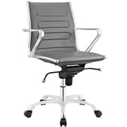 Modway Ascend Mid Back Office Chair in Gray (889654067672)