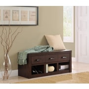 Altra Westbrook Storage Bench Dark Walnut (5051096PCOM)