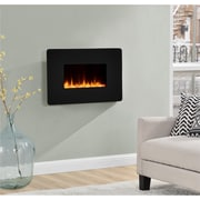 "Altra Kenna 25"" Wall Mounted Electric Fireplace, Black (5034096COM)"