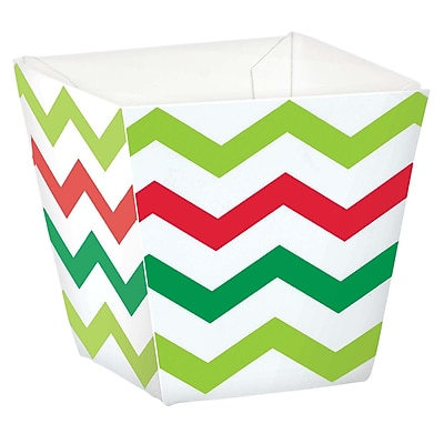 """""Amscan Mini Chevron Christmas Cups, Paper, 1.75"""""""" x 1.75"""""""" x 1.75"""""""", 2/Pack, 36 Per Pack (400126)"""""" 2537581"