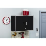 SystemBuild Apollo Wall Cabinet, Black (7469056COM)