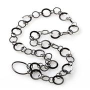 Eyexotic Jillian Eyeglass Necklace, Gunmetal