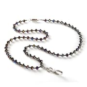 BooJee Lizzie Beaded Lanyard, Iridescent, Greys