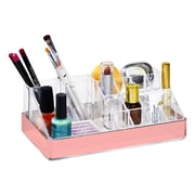 Simplify16 Section Cosmetic and Jewelry Holder in Rose Gold