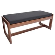Regency Belcino Double Seat Bench- Cherry/ Black (BBNCH2148CHBK)
