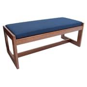 Regency Belcino Double Seat Bench- Cherry/ Blue (BBNCH2148CHBE)