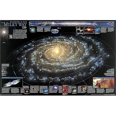National Geographic Map Of The Milky Way( NGS481) 2522348