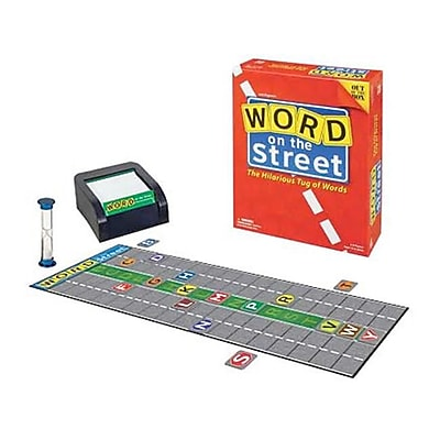 Brybelly Holdings Word on the Street Board Game( BRYBL1505) 2522709