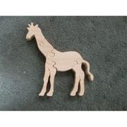 Fine Crafts Wooden 5 piece Giraffe jigsaw puzzle( FNCRF294)