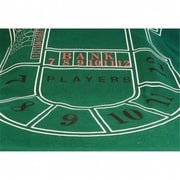 WorldWise Imports Full Color Baccarat Felt( WWI1500)