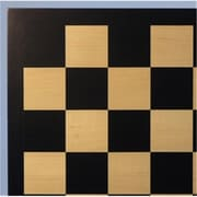 WW Chess Veneer Wood Chess Board - Black and Maple( WWI413)