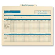 ComplyRight Employee Benefits & Insurance Records Organizer, Pack of 25 (A0309)