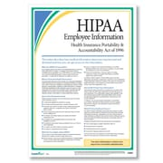 ComplyRight HIPAA Employee Information Poster, 17 X 24 (A0953)