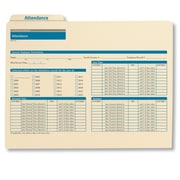 ComplyRight Employee Attendance Records Organizer, Pack of 25 (A0308)