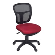 Niche Harrison Armless Swivel Chair- Red (5129RD)