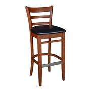 """Regency Zoe Wood Cafe 42"""" Chair (8095CHBK)"""