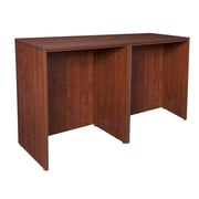 Regency Legacy Stand Up Side to Side Desk/ Desk- Cherry (LSSDSD7223CH)