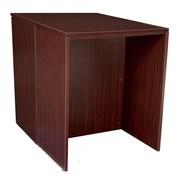 Regency Legacy Stand Up Back to Back Desk/ Desk- Mahogany (LSSDSD3646MH)