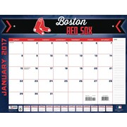 Turner Licensing Boston Red Sox 2017 22X17 Desk Calendar (17998061500)