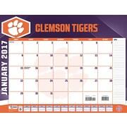 Turner Licensing Clemson Tigers 2017 22X17 Desk Calendar (17998061476)