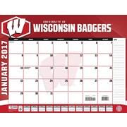 Turner Licensing Wisconsin Badgers 2017 22X17 Desk Calendar (17998061491)