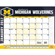 Turner Licensing Michigan Wolverines 2017 22X17 Desk Calendar (17998061483)