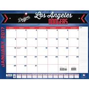 Turner Licensing Los Angeles Dodgers 2017 22X17 Desk Calendar (17998061509)