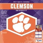 Turner Licensing Clemson Tigers 2017 12X12 Team Wall Calendar (17998011798)