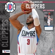 Turner Licensing Los Angeles Clippers 2017 12X12 Team Wall Calendar (17998011881)