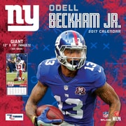 Turner Licensing New York Giants Odell Beckham, Jr. 2017 12X12 Player Wall Calendar (17998011996)