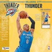Turner Licensing Oklahoma City Thunder 2017 12X12 Team Wall Calendar (17998011889)