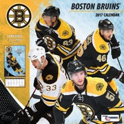 Turner Licensing Boston Bruins 2017 Mini Wall Calendar (17998040583)