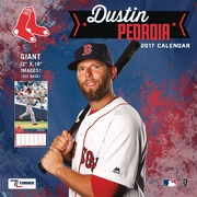 Turner Licensing Boston Red Sox Dustin Pedroia 2017 12X12 Player Wall Calendar (17998012068)