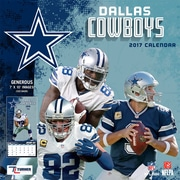 Turner Licensing Dallas Cowboys 2017 Mini Wall Calendar (17998040560)