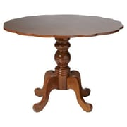 Boraam Regency Dining Table, Burnt Walnut (21055)