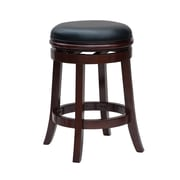 "Boraam 24"" Backless Counter Stool, Cherry (44224)"