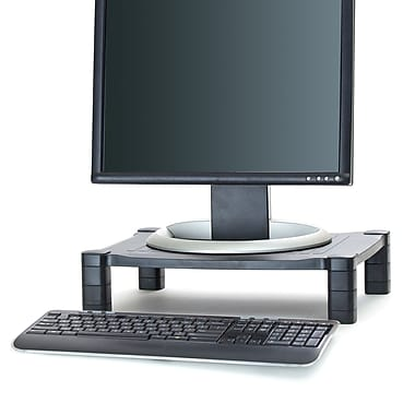 Mind Reader Guide Adjustable Plastic Monitor Laptop