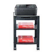 Mind Reader 'Classify' 3 Shelf Mobile Printer Cart, Black